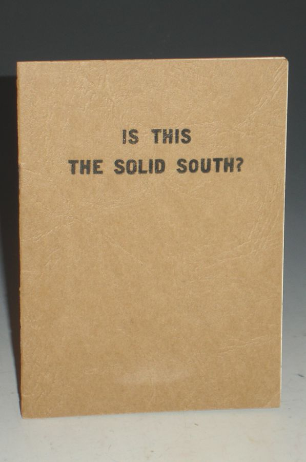 Is This the Solid South? Jettie Felps.