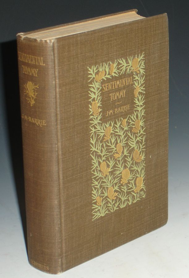 Sentimental Tommy; The Story of His Boyhood. J. M. Barrie.