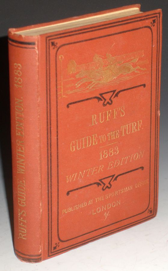 Ruff's Guide to the Turf, Winter Ed, 1883-1884