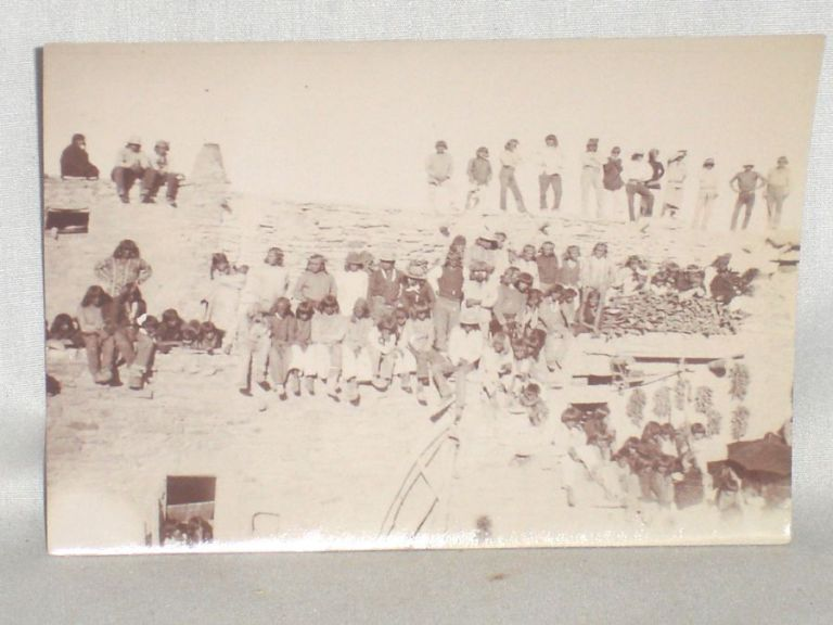 Original Photograph of Havasupai at the Mishongnovi Snake Dance