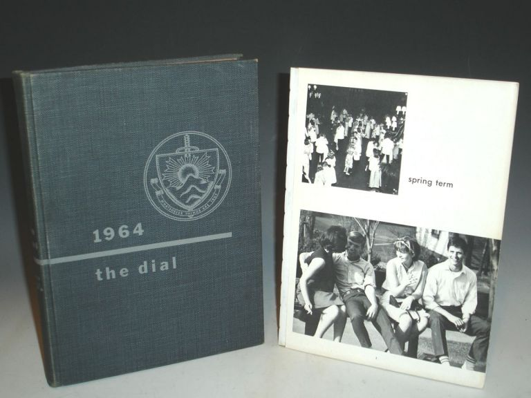 The Dial; Hill School, 1964 [Oliver Stone]