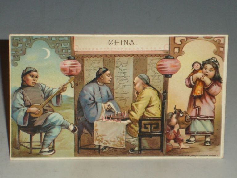 China (Advertising Promotional Material, Arbuckle Coffe, (ca, 1895)