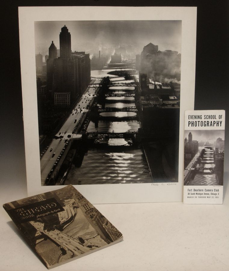 Photograph [signed with Pamphlet and Signed booklet]. Fred G. Korth, Fort Dearborn Camera Club.