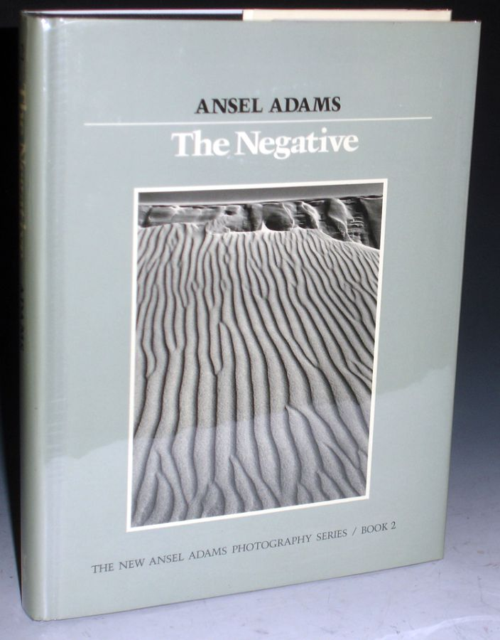 The Negative (Inscribed By Adams). Ansel Adams.