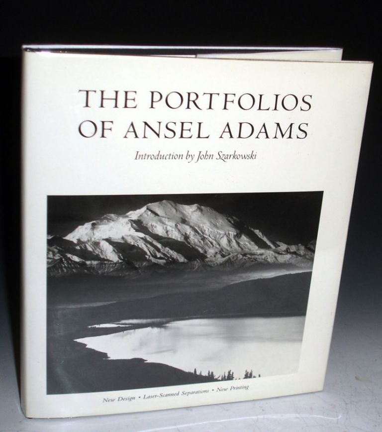 The Portfolios of Ansel Adams (signed By Adams). Ansel Adams.