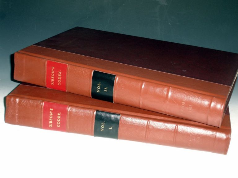 Codex Juris Ercclesiastici Anglicani: Or, the Statutes, Constitutions, Canons, Rubricks and Articles, of the Church of England, Methodically Digested Under Their Proper Headd with a Commentary Historical and Juridical, Edmund Gibson.