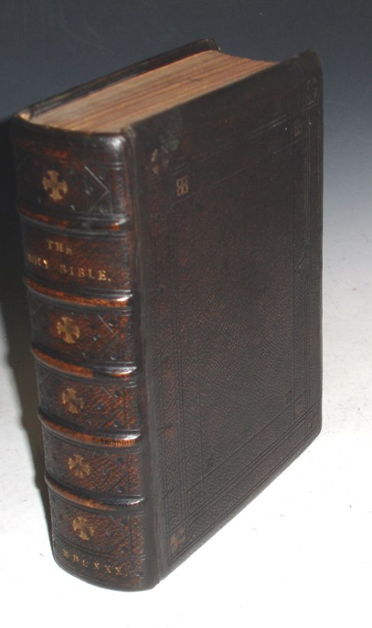 """The Holy Bible Containing the Old Testament and the Newly Translated Out of the """"Originall Tongues"""" and with the Former Translations Diligently Compared and Revised, By His Maiesties Special Commandment. Appointed to be Read In Churches. Bible English Geneva. 1630, Robert and John Bill (printers Barker."""