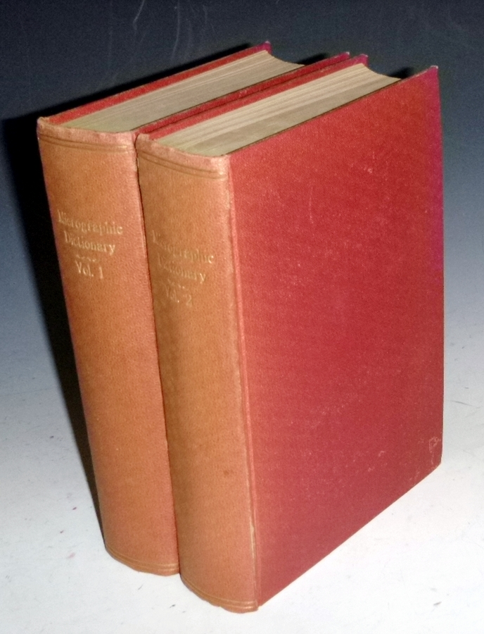 The Micrographic Dictionary; a Guide to the Examination and Investigation of the Structure and Nature of Microscopic Objects. J. W. And Arthur Henfrey Griffith.