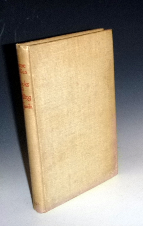 Some Notes on Books and Printing. a Guide for Authors and Others. Charles T. Jacobi.