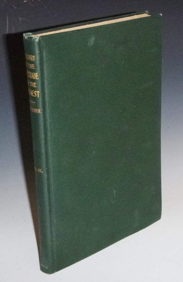 The American Fur Trade of the Far West (volume 3 Only with Large Folding map). Hiram Martin Chittenden.