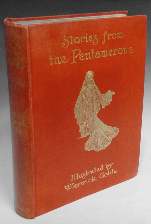 Stories from the Pentamerone. Giambattista Basile, Warwick Goble.