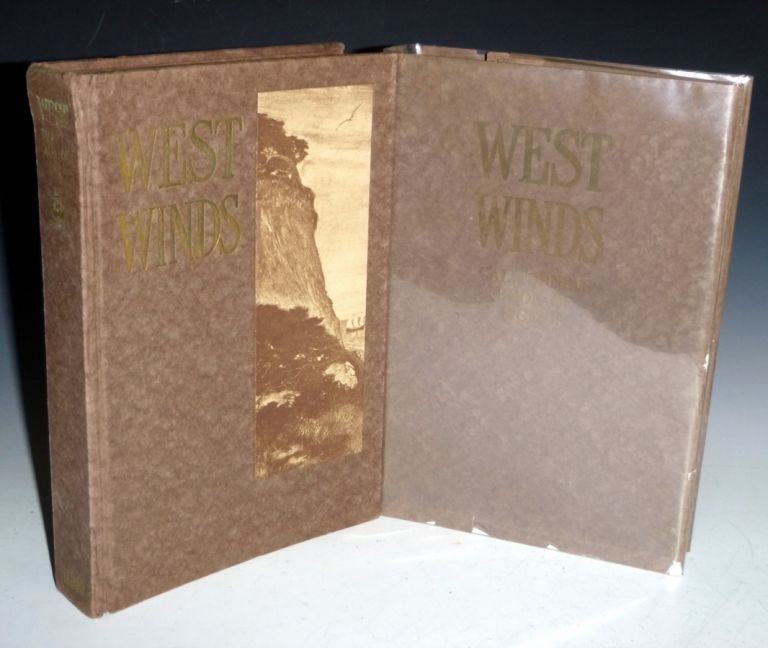 West Winds. California's Book of Fiction Written By California Authors and Illustrated By California Artists. Jack London, Herman Whitaker, Charles F. Lummis.