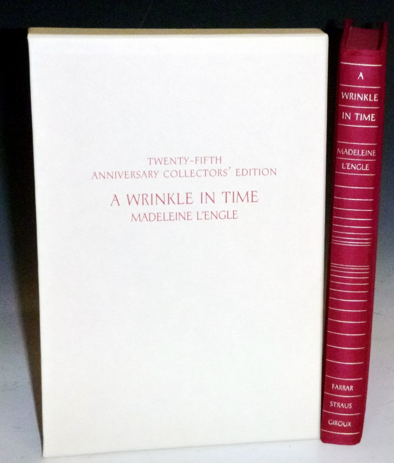 A Wrinkle in Time (Twenty-Fifth Anniversary Edition signed). Madeleine L'Engle.