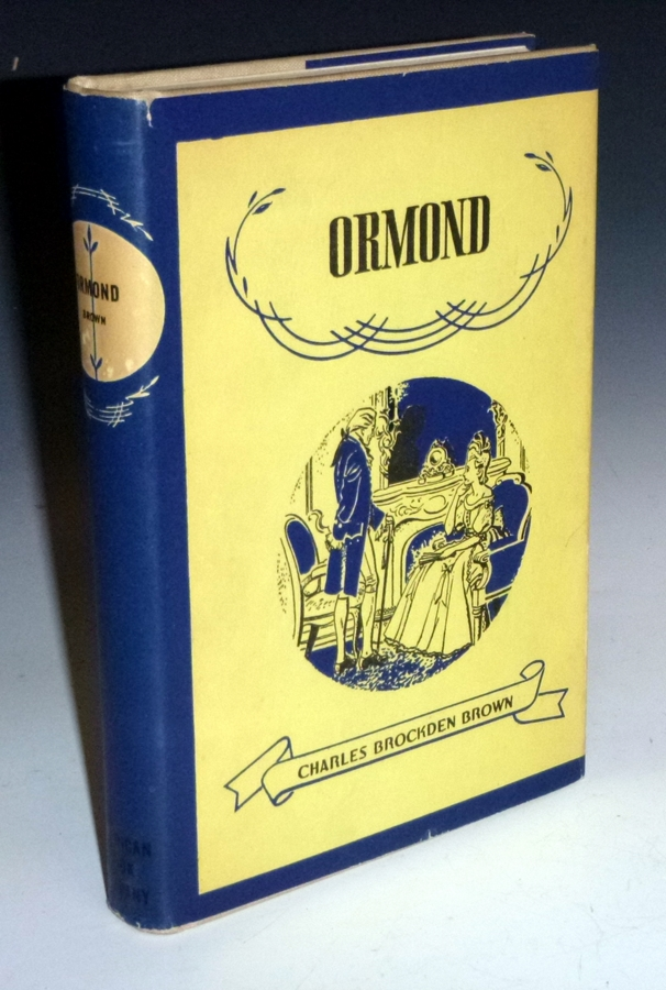 Ormond. Charles Brockden Brown, Ernest Marchand.