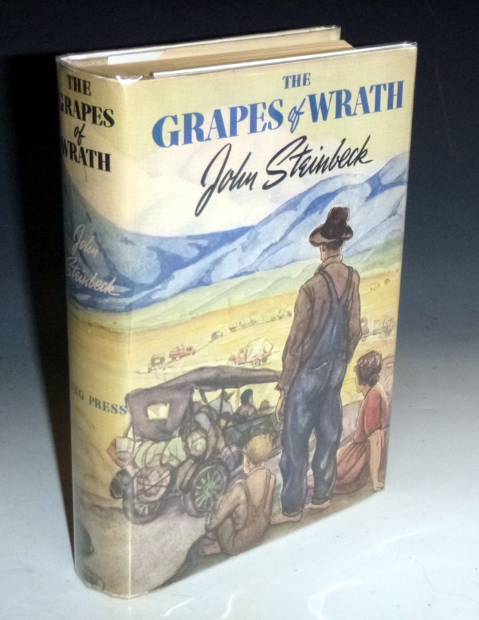 The Grapes of Wrath. John Steinbeck.