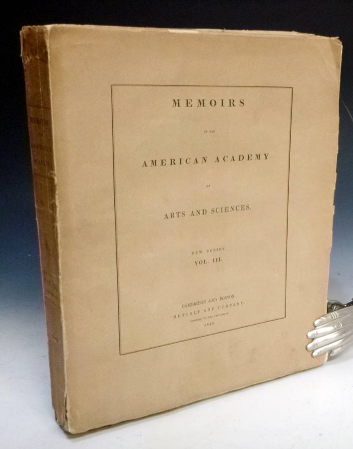 Memoirs of the American Academy (Volume 5). Asa Gray, Etal.