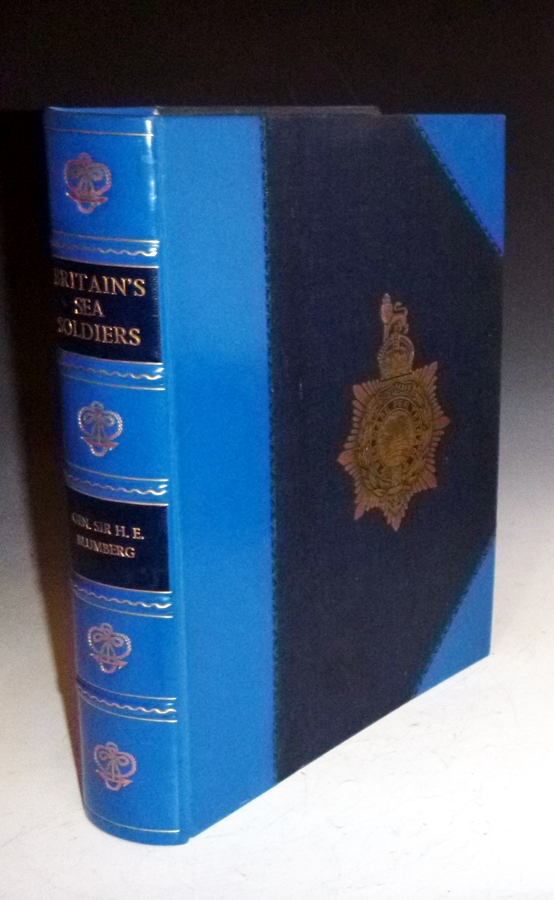 Britain's Sea Soldiers. A Record of the Royal Marines During the War 1914-1919. General Sir H. E. Blumberg, Royal marines compiler.