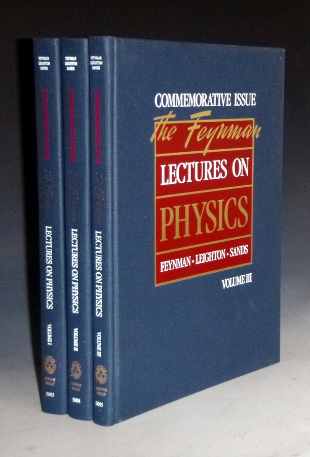 The Feynman Lectures of Physics (special Commemorative issue). Richard Feynman, Robeert B. Leighton, Matthew Sands.