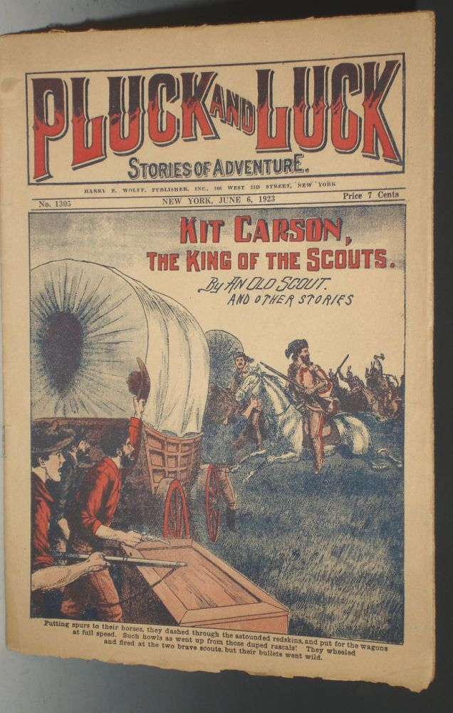 Kit Carson, King of Scouts (Pluck and Luck, No. 1305)