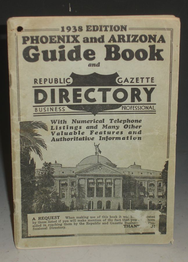 Phoenix and Arizona Guide Book, 1928