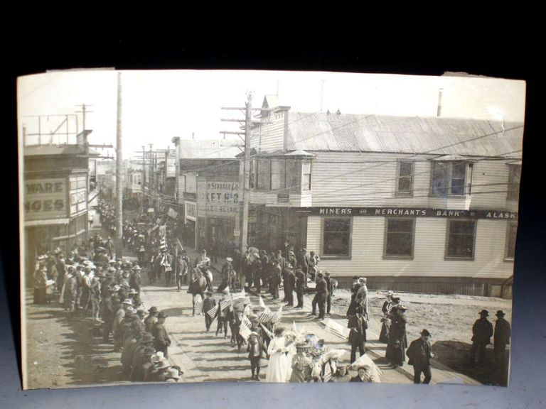 Photograph of Nome at Front Street, Fourth of July Celebration, Ca. 1904