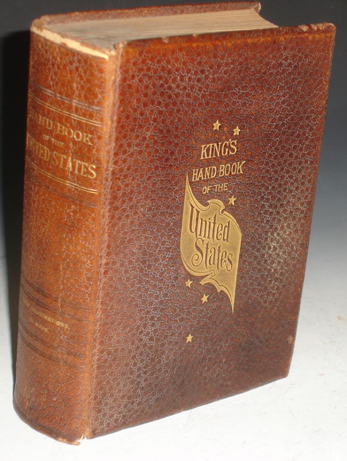 King's Handbook of the United States. M. F. Sweetser, Moses King.