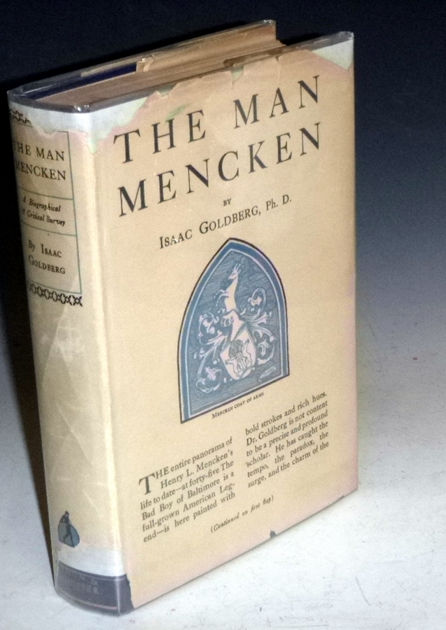 The Man Mencken; a Biographical and Critical Survey. Isaac Goldberg.
