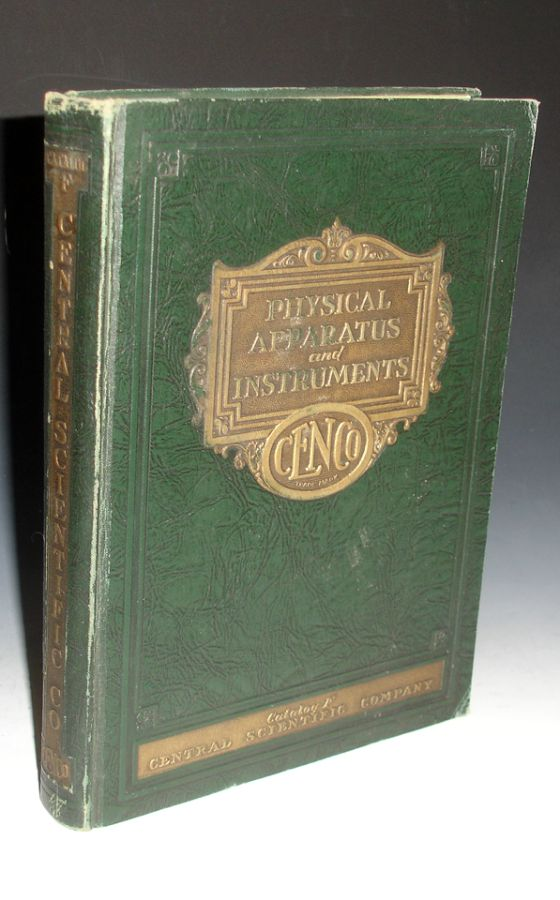 Physical Apparatus and Instruments, Catalog f No. 129-2. Central Scientific Company.