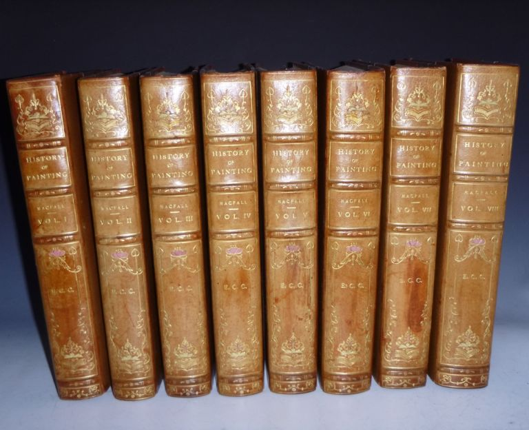 History of Painting (8 Vol Set), the Florentine Edition, Limited to 250 Copies, Haldane MacFall.