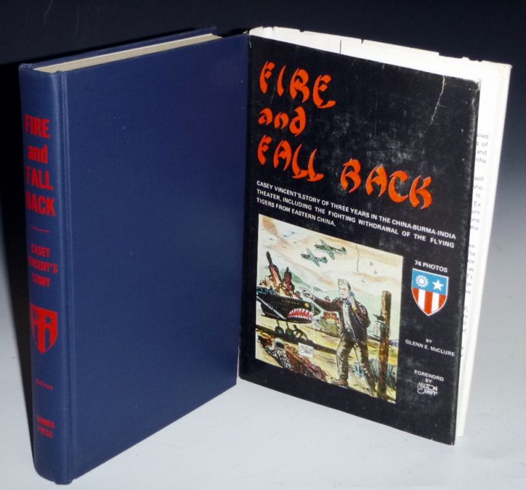 Fire and Fall Back (Inscribed to Lee Marvin). Glenn E. McClure.