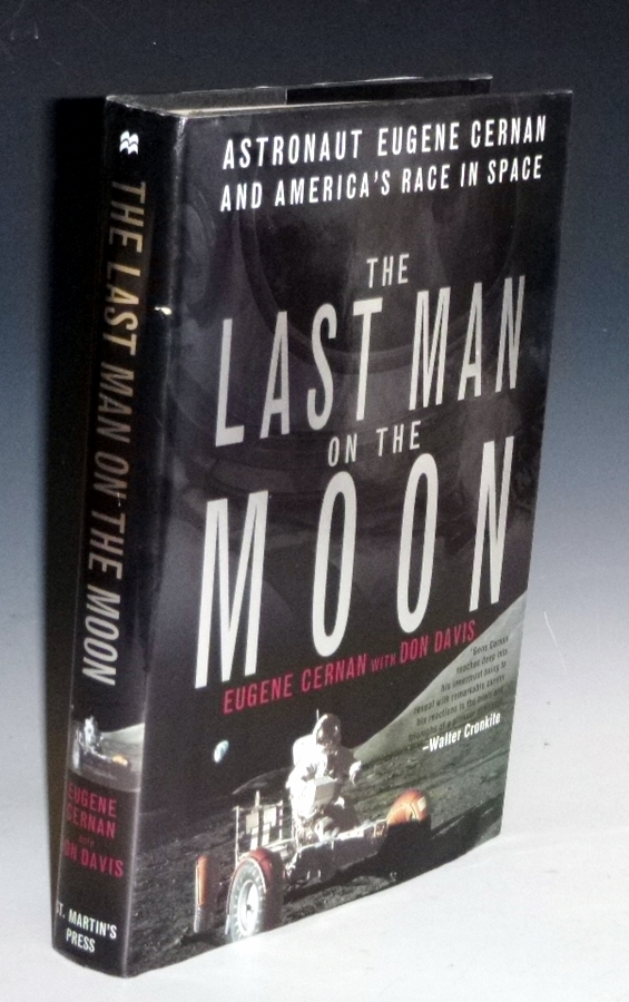 The Last Man on the Moon (Inscribed By the Author to Pamela Marvin (Lee Marvin's wife). Eugene Cernan.