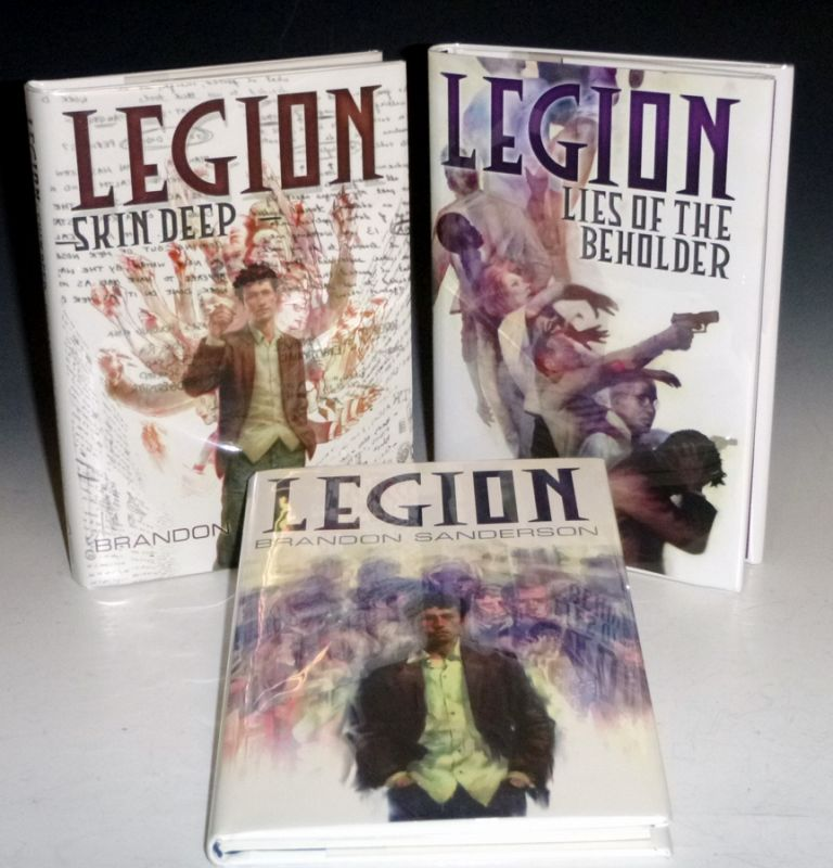 Legion [the Trilogy] Each Volume Signed and Limited. Brandon Sanderson.