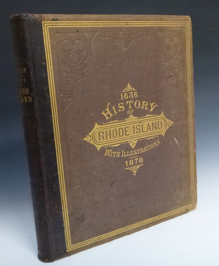 History of the State of Rhode Island; with Illustrations from Original Sketches. Albert J. Wright.