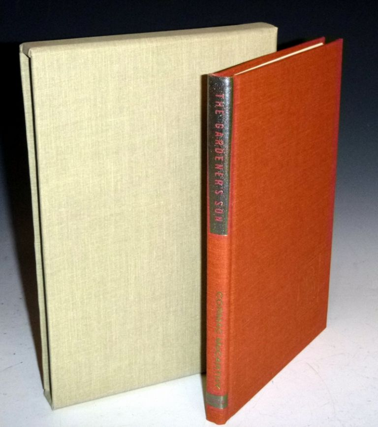 The Gardener's Son (signed, Limited Edition, No. 91 of 350 copies) in Original Slipcase. Cormac McCarthy.