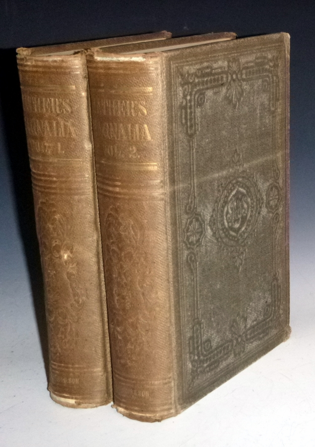 Magnalia Christi Americana; or, the Ecclesiatical History of New England from Its first Planting in the Year 1620 Unto the Year of Our Lord 1698. (2 Volume set). Cotton Mather.
