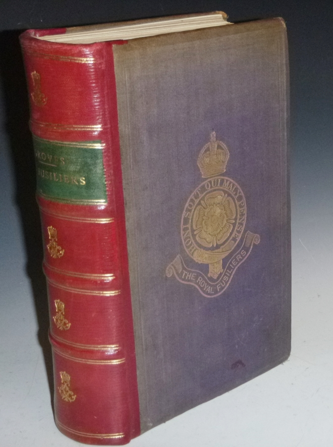 Historical Records of the 7th or Royal Regiment of Fusiliers Now Known as the Royal Fusiliers (the City of London Regiment), 1685-1903. Lt.-Col. Percy Groves.