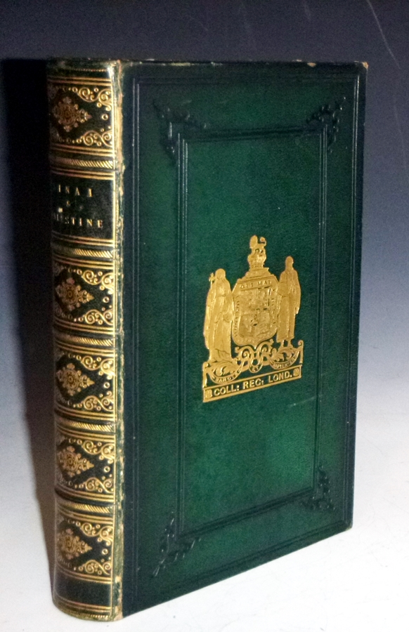 Sinai and Palestine; in Connection with Their History (in a Prize binding). Arthur Penrhyn Stanley.