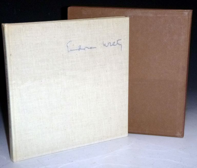 One Time, One Place; Mississippi in the Depression, a Snapshot Album (Signed, Limited Edition #145 of 300. Eudora Welty.