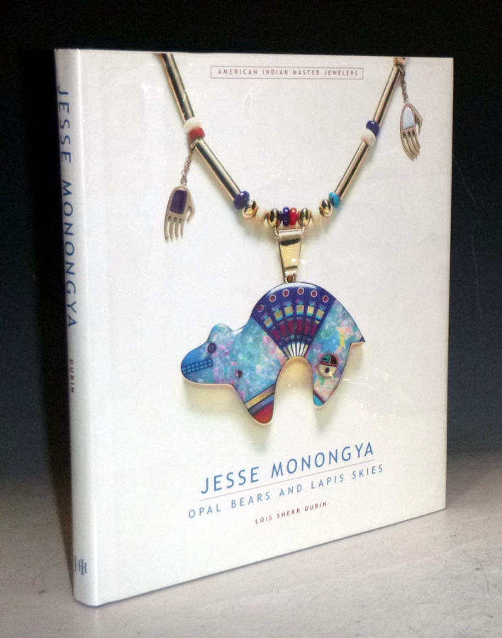 Jesse Monongya: Opal Bears and Lapis Skies (signed By the artist). Lois Sherr Dubin, Jesse Monongya.