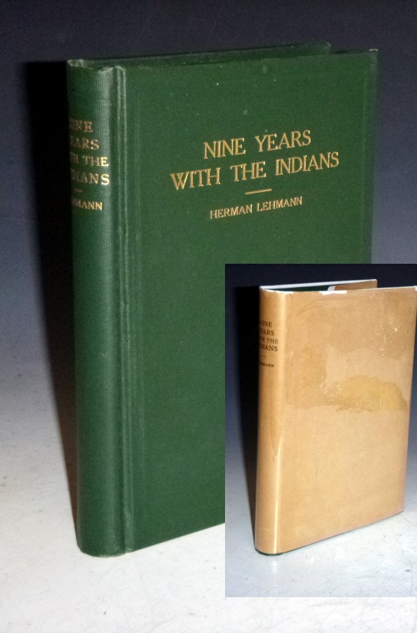 Nine Years Among the Indians 1870-1879. The Story of the Captivity and Life of a Texan Among the Indians. Herman Lehmann, edited J. Marvin Hunter.