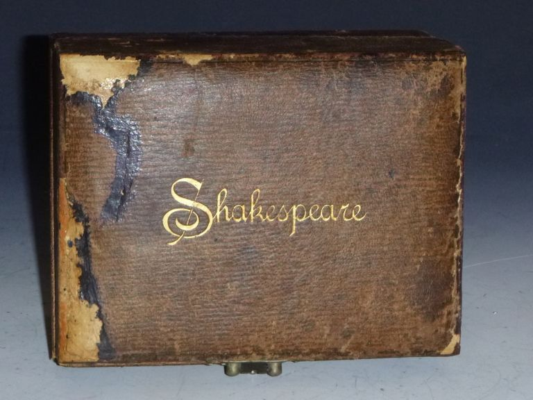 The Illustrated Pocket Shakespeare Complete with Glossary, 8 Vol set in Original Box. William Shakespeare, J. Talfourd Blair, Robert MacLeose.