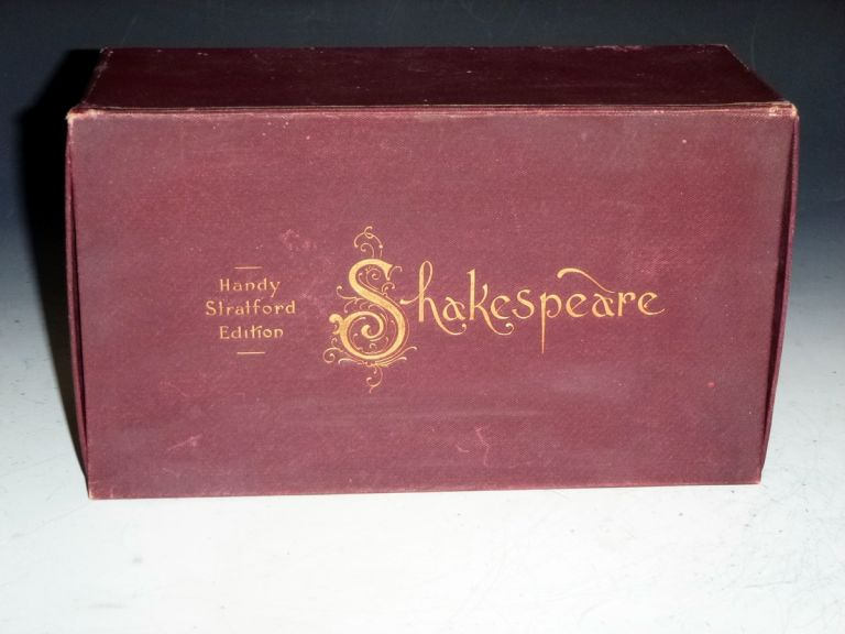 The Complete Works of Shakespeare, 13 Volumes, [Handy Stratford Ed.] (edited By H.G. Clark and W.A. Wright. William Shakespeare.