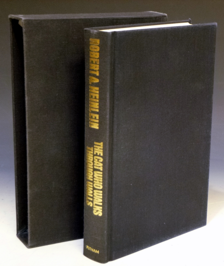 The Cat Who Walks Through Walls: A Comedy of Manners (Signed Limited Edition #269 of 350 Copies). Robert A. Heinlein.