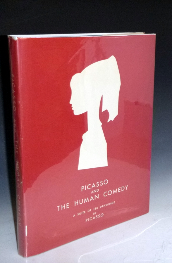 A Suite of 180 Drawings By Picasso; November 28, 1954-February 3, 1954; Picasso the Human Comedy. Pablo Picasso, Rebecca West Michael Leiris, E. Terlade.