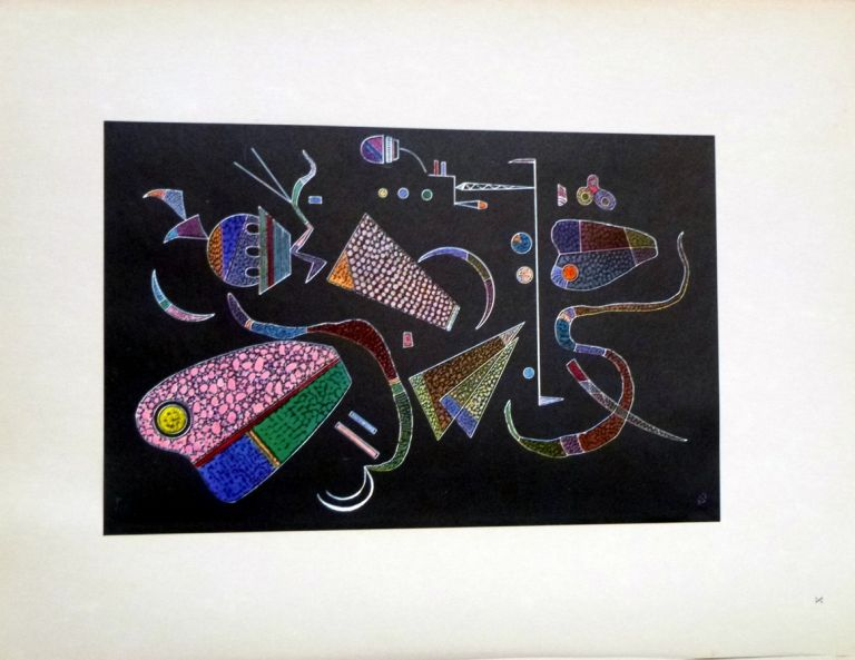 Wassily Kandinsky, Ten Reproductions Inf Colour Collotype of works in Watercolor and Gouache. Wassily Kandinsky, Bill Max.