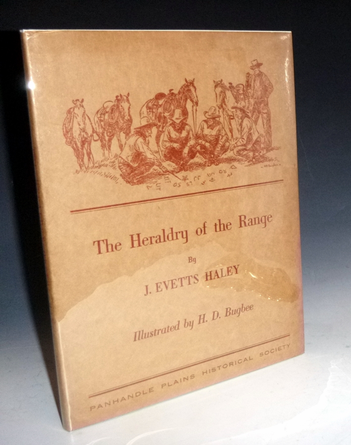 Heraldry of the Range, Inscribed By Carl Hertzog to Allen Maxwell. J. Evetts Haley.