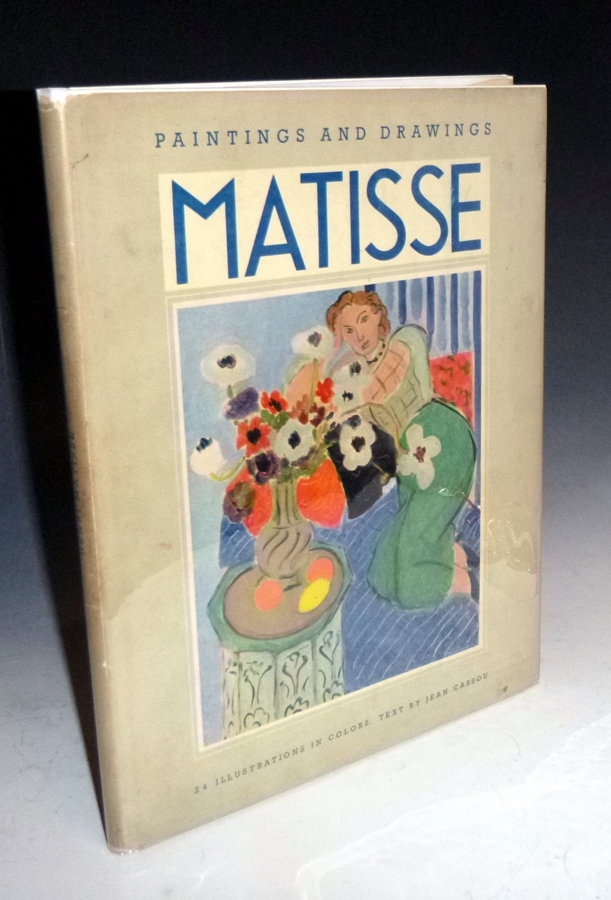 Paintings and Drawings of Matisse with a Critical Survey By Jean Cassou. Henri Matisse, Jean Cassou.