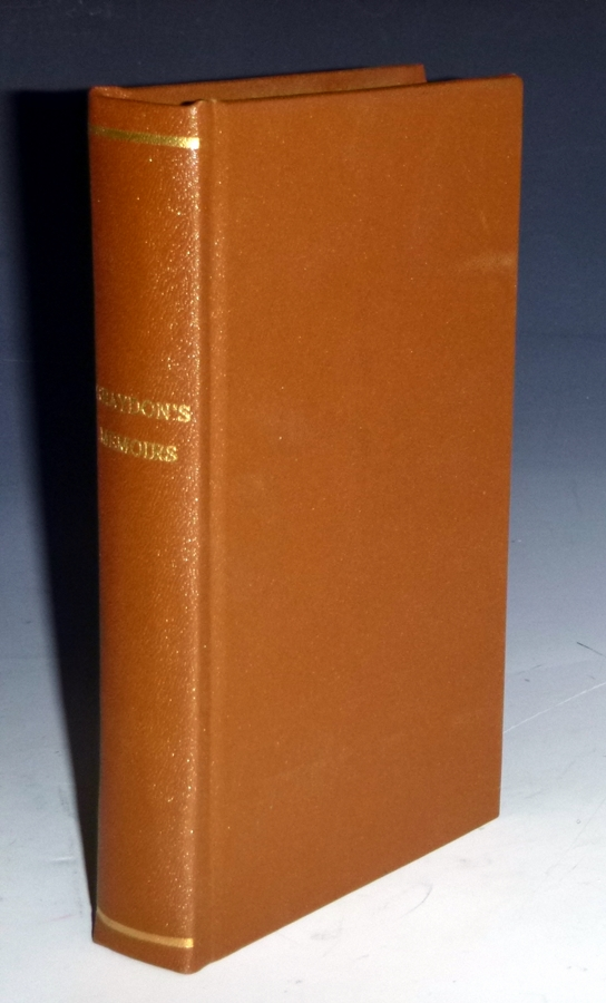 Memoirs of a Life, Chiefly Passed in Pennsylvainia, Within the Last Sixty Years. Alexander Graydon, John Wyeth.