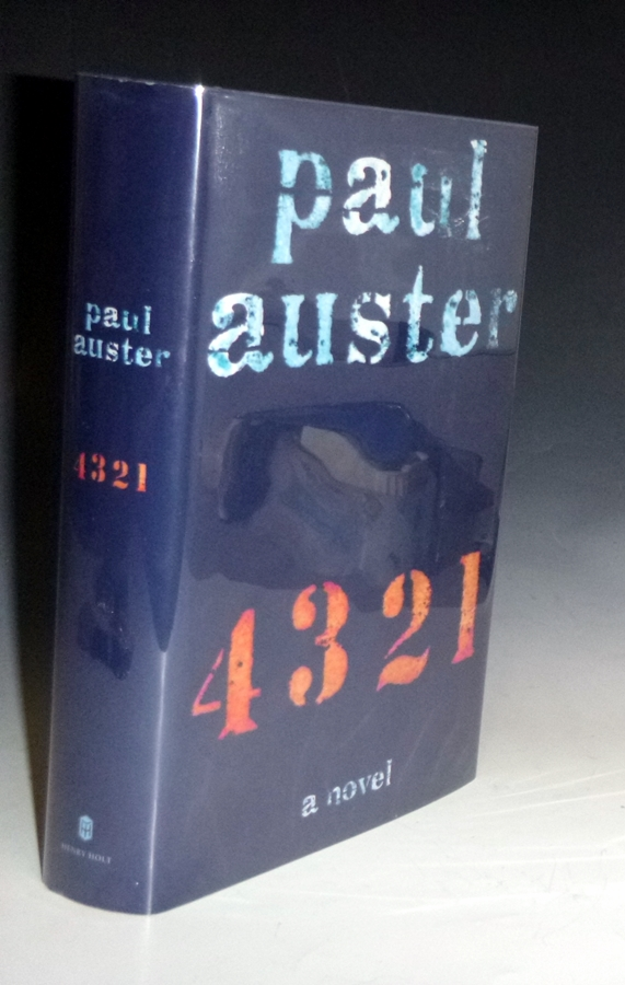 4321; A Novel (signed By the Author. Paul Auster.
