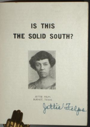Is This the Solid South?